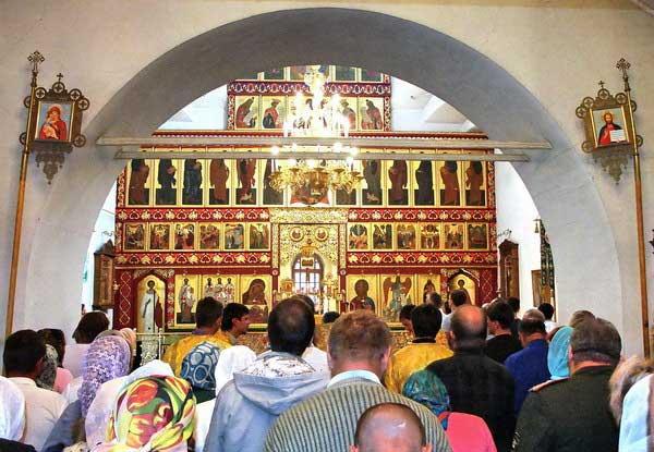 Auuua 2018 >> Икона Августовской Божьей Матери заняла достойное место в волгоградском храме Иоанна Предтечи