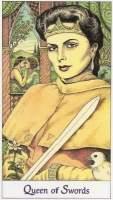 Дама мечей аватар